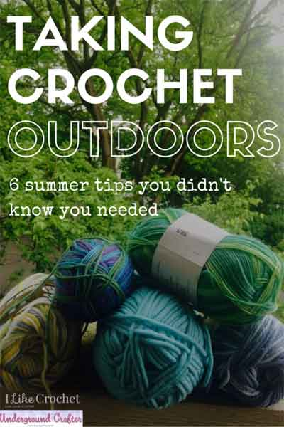 CROCHET SUMMER TIPS|SNICKERDOODLE SUNDAY FEATURE|CREATIVE CROCHET WORKSHOP