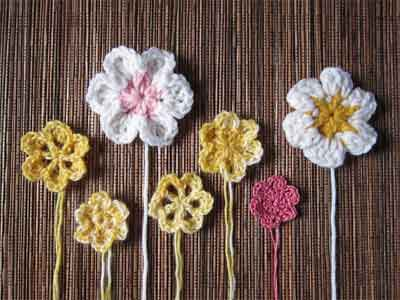 Simple Flowers and Variations|SNICKERDOODLE SUNDAY FEATURE|CREATIVE CROCHET WORKSHOP