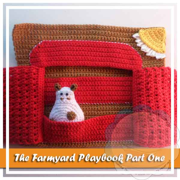 FARMYARD PLAYBOOK CROCHET ALONG PART ONE|CREATIVE CROCHET WORKSHOP