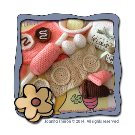 LITTLE COOKIE BAKING SET|CROCHET ALONG|CREATIVE CROCHET WORKSHOP