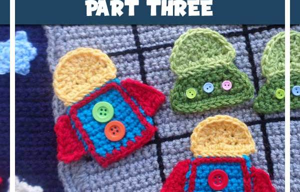 OUT IN SPACE PLAYBOOK PARK THREE|CROCHET ALONG|CREATIVE CROCHET WORKSHOP