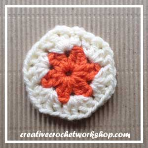 HEXAGON IN A SQUARE|STEP 003| CROCHET A BLOCK|CREATIVE CROCHET WORKSHOP