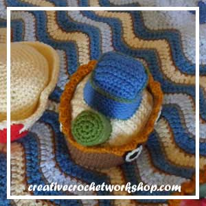 LITTLE SAILOR SET PART FIVE|PREVIEW 1|CREATIVE CROCHET WORKSHOP