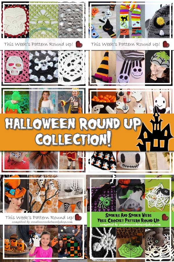 HALLOWEEN SCARIFIC COLLECTION | FREE CROCHET PATTERN ROUND UP | CREATIVE CROCHET WORKSHOP