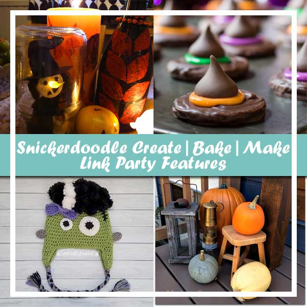 FEATURES  | Snickerdoodle Linky Party #155 | Creative Crochet Workshop