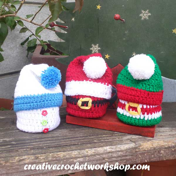 CHRISTMAS GIFT BASKETS | CREATIVE CROCHET WORKSHOP