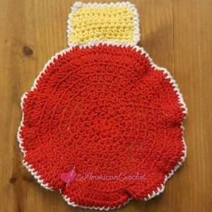 MATCHING CHRISTMAS ORNAMENT HOT-PAD | AMERICAN CROCHET | CREATIVE CROCHET WORKSHOP