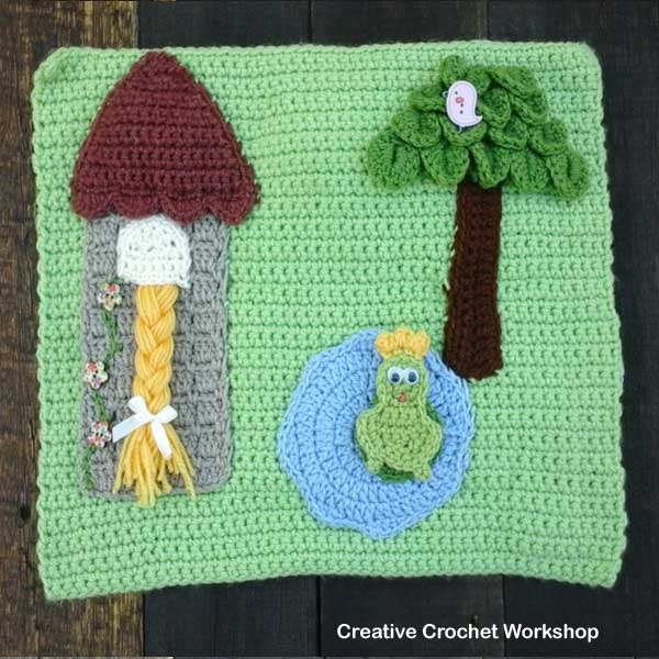 My Fairy Tale Playbook Part Three | Free Crochet Pattern | Creative Crochet Workshop @creativecrochetworkshop #ccwfairytaleplaybook