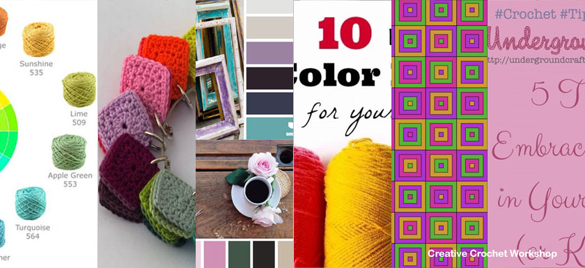 Creative Color Inspiration   Tips & Cool Ideas   Creative Crochet Workshop @creativecrochetworkshop