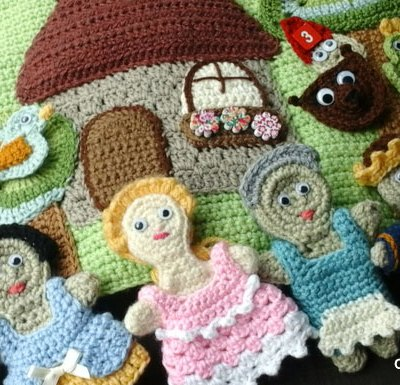 My Fairy Tale Playbook Part Six | Free Crochet Pattern | Creative Crochet Workshop @creativecrochetworkshop #ccwfairytaleplaybook