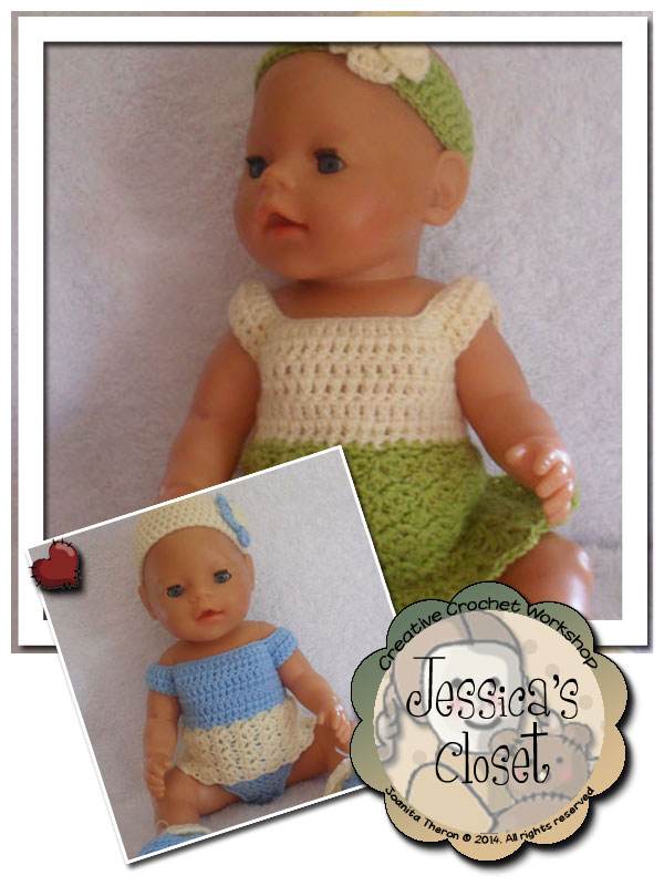 Jessica's Closet Baby Doll Summer Dress Set 1 | Crissy's Doll Boutique @crissysdollboutique