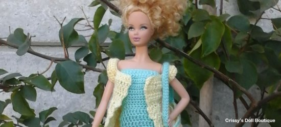 Lacy Summer Dress | Cherry's Boutique | Crissy's Doll Boutique @crissysdollboutique