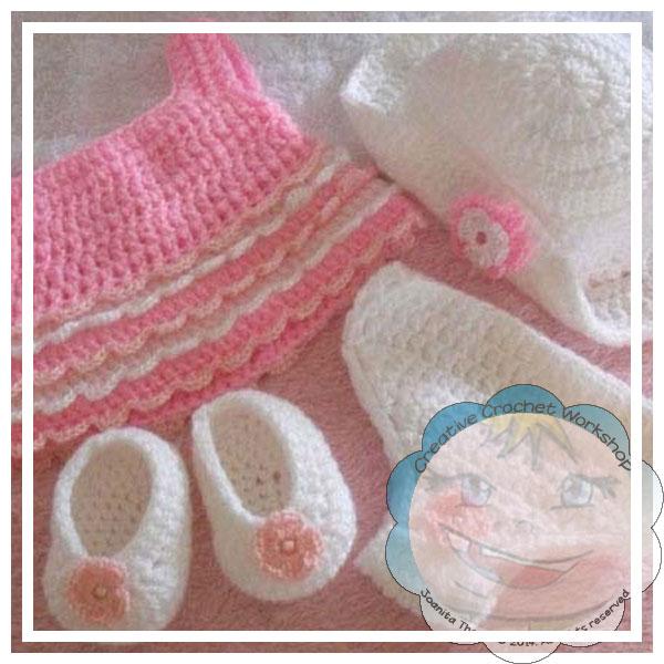 Jessica's Closet Baby Doll Summer Dress Set 2 | Crissy's Doll Boutique @crissysdollboutique