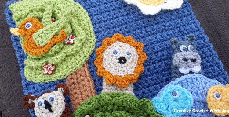 My Bible Stories Playbook Part One | Free Crochet Pattern | Creative Crochet Workshop @creativecrochetworkshop #ccwbiblestoriescrochetalong