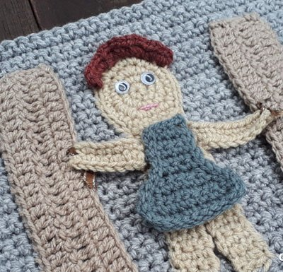 My Bible Stories Playbook Part Six | Free Crochet Pattern | Creative Crochet Workshop @creativecrochetworkshop #ccwbiblestoriescrochetalong