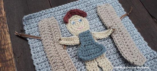 My Bible Stories Playbook Part Six | Free Crochet Pattern | Creative Crochet Workshop @creativecrochetworkshop #ccwbiblestoriescrochetalong