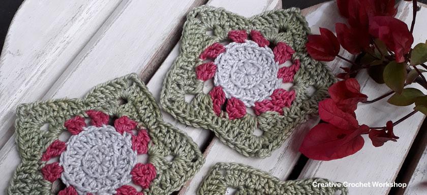 Christmas Wish Star Coasters   2017 Holiday Blog Hop   Creative Crochet Workshop @creativecrochetworkshop #freecrochetworkshop #2017holidaybloghop