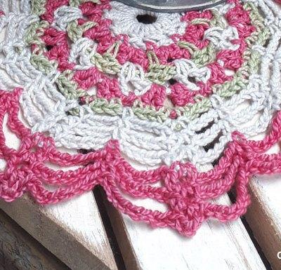 Flower Web Doily | Creative Crochet Workshop #ChristmasGiftAlong2017