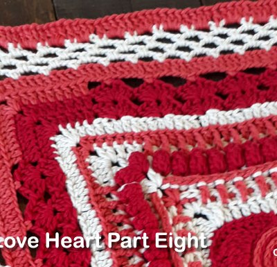 Psychedelic Love Heart Part Eight - Free Crochet Pattern | Creative Crochet Workshop | #ccwpsychedelicloveheart #crochetalong #crochet @creativecrochetworkshop