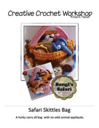 Safari Animal Skittles Bag