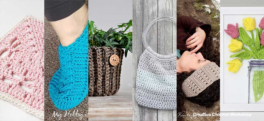 Pretty Assortment Gifts - Free Crochet Pattern Round Up | Compiled by Creative Crochet Workshop @creativecrochetworkshop