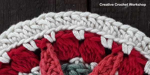 Christmas Sun Star Doily tutorial - Free Crochet Pattern | Creative Crochet Workshop #2018ChristmasInJulyCAL