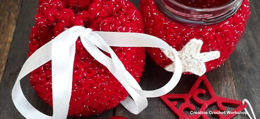 Sparkly Christmas Gift Set - Free Crochet Pattern   Creative Crochet Workshop #2018ChristmasInJulyCAL
