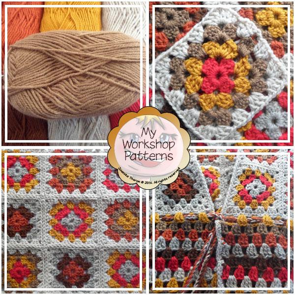 Granny Square Stitch Waistcoat - Free Crochet Pattern | Creative Crochet Workshop #freecrochetpattern #crochet @creativecrochetworkshop