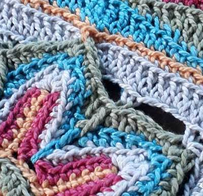 Scrapsadelic Groovy Blanket Part One - Free Crochet Along | Creative Crochet Workshop #ccwscrapsadelicgroovyblanket #crochetalong #scrapsofyarn