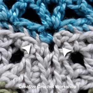 Scrapsadelic Groovy Blanket Part Four - Free Crochet Along | Creative Crochet Workshop #ccwscrapsadelicgroovyblanket #crochetalong #scrapsofyarn