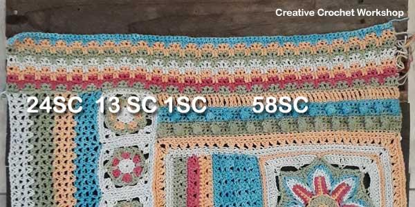 Scrapsadelic Groovy Blanket Part Five - Free Crochet Along   Creative Crochet Workshop #ccwscrapsadelicgroovyblanket #crochetalong #scrapsofyarn