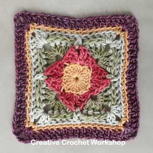 Scrapsadelic Groovy Blanket Part Six - Free Crochet Along | Creative Crochet Workshop #ccwscrapsadelicgroovyblanket #crochetalong #scrapsofyarn