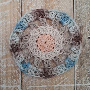 Vintagelicious Square Part One - Free Crochet Along | Creative Crochet Workshop #ccwvintagelicioussquare #crochetalong #scrapsofyarn