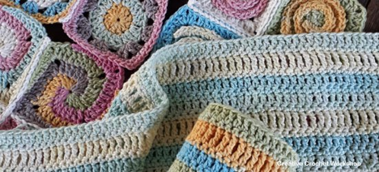 Scrapsrific Rainbow Blanket Part Five - Free Crochet Pattern | Creative Crochet Workshop @creativecrochetworkshop #freecrochetpattern #grannysquare #afghansquare #crochetalong #ccwscrapsrificrainbowblanket