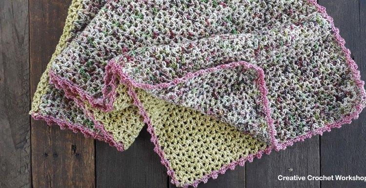 Sunshine Fields Wrap - Free Crochet Pattern | Creative Crochet Workshop #freecrochetpattern #crochet @creativecrochetworkshop