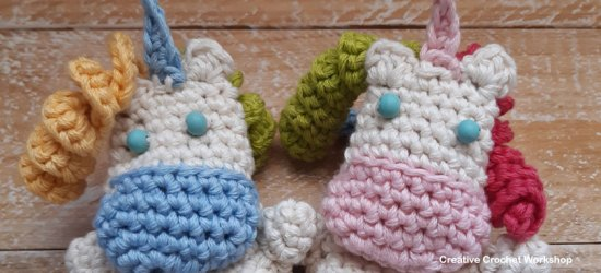 Fold Up Unicorn Crochet Play Set Part 2 | Free Crochet Along | Creative Crochet Workshop #crochet #crochetalong #crochetplay #crochetplayset #crochettoy #crochetunicorn