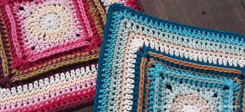 Back Post Frame Crochet Square - Crochet A Block 2021 | Creative Crochet Workshop @creativecrochetworkshop #crochetsquare #freecrochetalong #crochetblanket #crochetthrow #ccwcrochetablock2021
