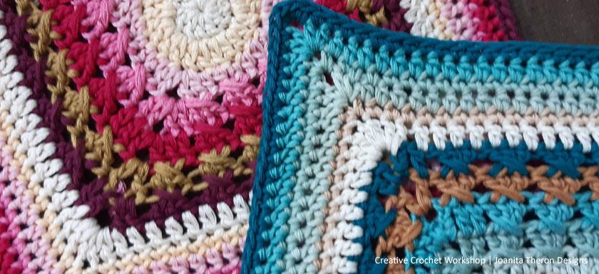 Cable Frame Crochet Square - Crochet A Block 2021 | Creative Crochet Workshop @creativecrochetworkshop #crochetsquare #freecrochetalong #crochetblanket #crochetthrow