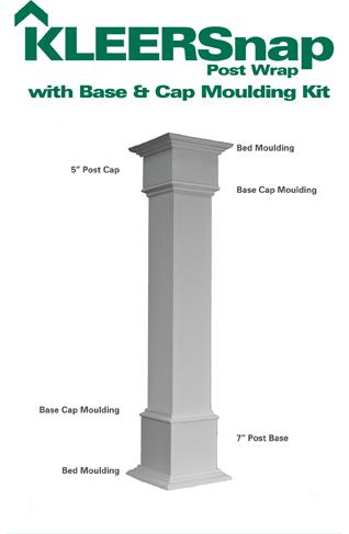 columns post wraps deck and porch