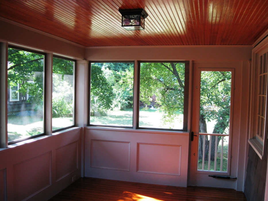 Screen Porch Converted to 3Season Room