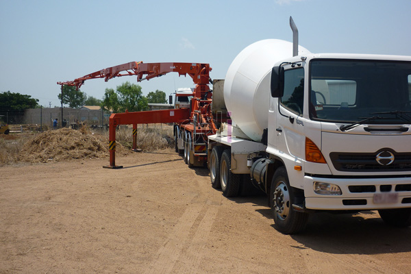 Concrete Pump Super Long Boom