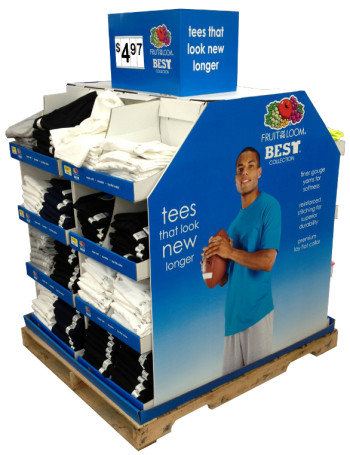 Warehouse Club Store Display Stands And Packaging