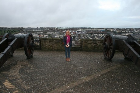 Myself being a tourist on the City Walls.