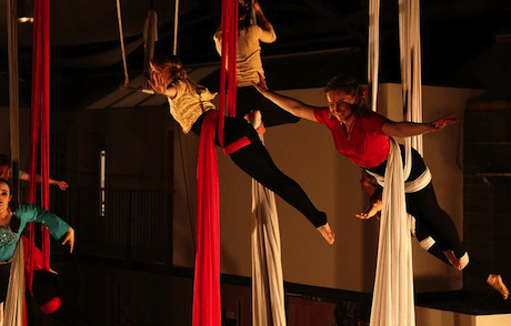 Dundee Heartspace aerial classes