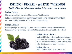 The Healing Power of Indigo!