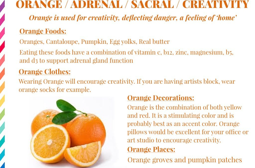 The Healing Power of Orange!