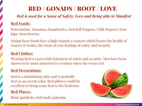 The Healing Power of RED!