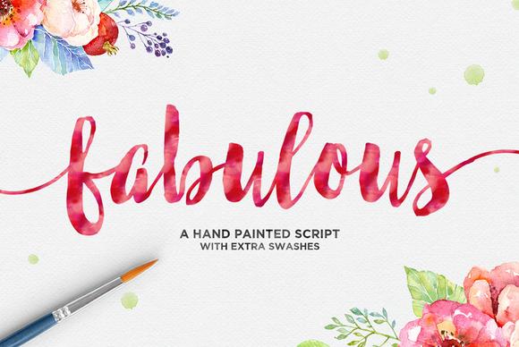 Fabulous Script Font By Dhan Studio Creative Fabrica