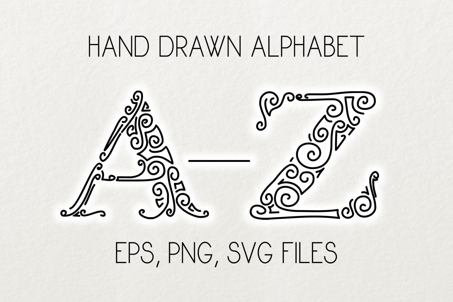 Alphabet Clipart And Vector Set Graphic By Eva Barabasne