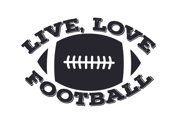 Download Live, Love, Football (SVG Cut file) by Creative Fabrica ...